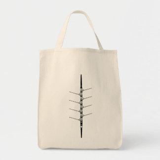 乗組員のロウイング-買い物袋 トートバッグ