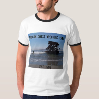 乗組員を破壊するオレゴンの海岸 Tシャツ