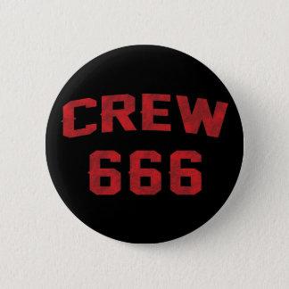 乗組員666 5.7CM 丸型バッジ