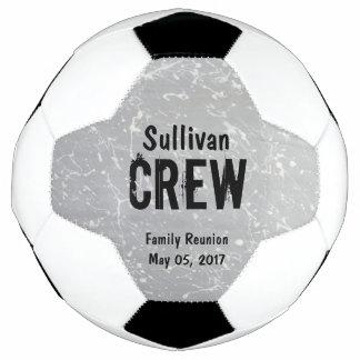 乗組員|のグループまたは姓|の家族会 サッカーボール