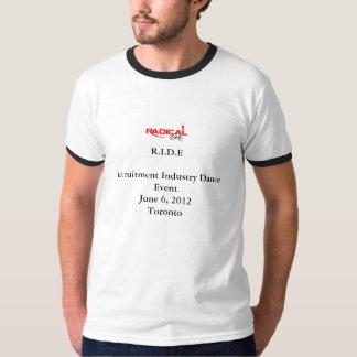 乗車のイベントのTシャツ Tシャツ