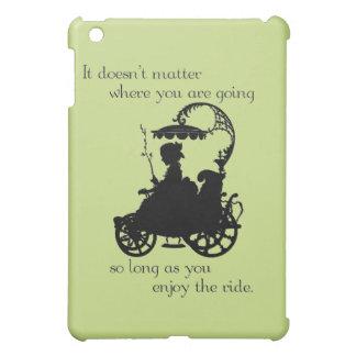 乗車を楽しんで下さい iPad MINIカバー