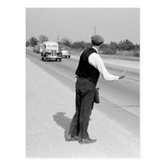 乗車を繋ぐこと、1939年 ポストカード