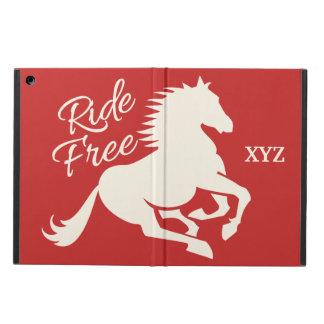 乗車自由でカスタムな色のケース iPad AIRケース