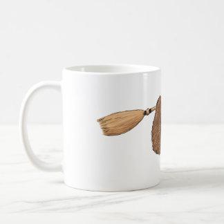 乗車-飛んでいるなほうきの怠惰--を遅らせて下さい コーヒーマグカップ