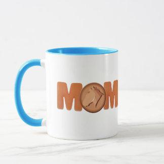 乗馬のお母さんの母の日のギフト マグカップ
