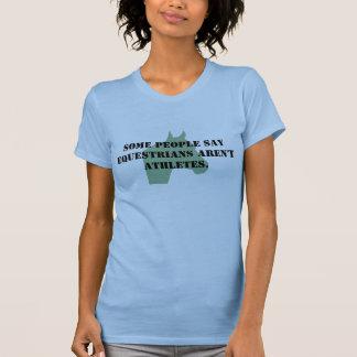 乗馬のアスリート Tシャツ