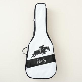 乗馬のジャンパー ギターケース