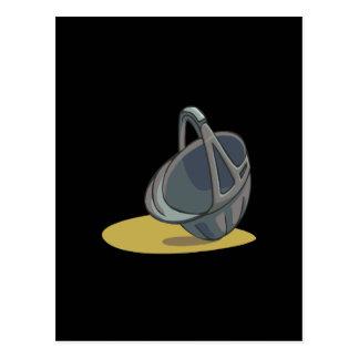 乗馬の帽子2 ポストカード