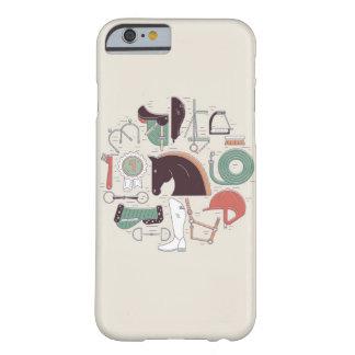 乗馬の必要のiPhoneの場合 Barely There iPhone 6 ケース
