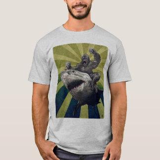 乗馬の鮫 Tシャツ