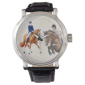 乗馬ショーの馬の腕時計 腕時計