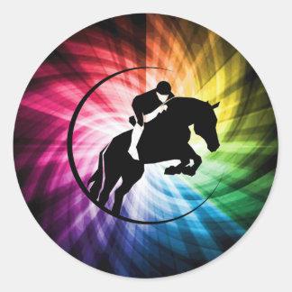 乗馬スペクトル ラウンドシール