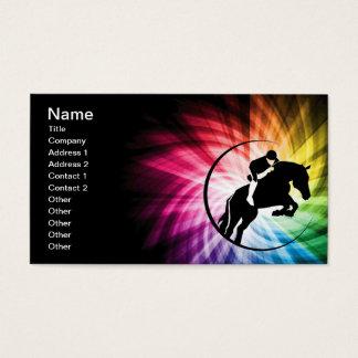 乗馬スペクトル 名刺