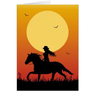 乗馬 カード