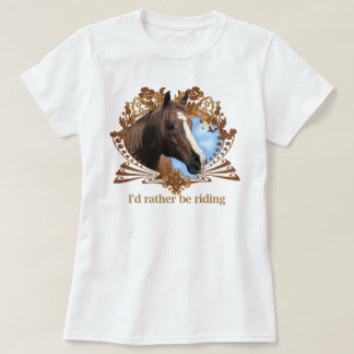 乗馬 Tシャツ