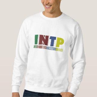 乱暴にカラフルなINTPのスエットシャツ; マイヤーズブリッグズのタイプ スウェットシャツ