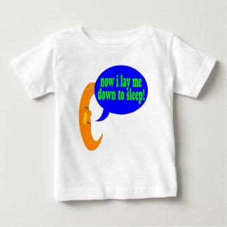 乳児は睡眠のTシャツに私を置きます ベビーTシャツ
