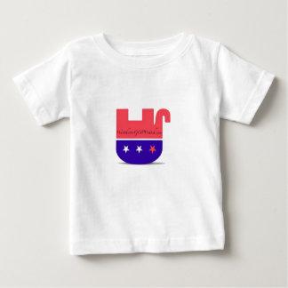 乳幼児のティー ベビーTシャツ