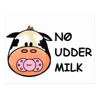 乳房のミルク無し ポストカード
