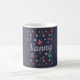 乳母のクリスマス コーヒーマグカップ