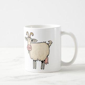 乳母のヤギ コーヒーマグカップ