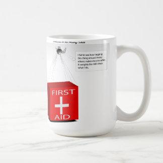 乳母の国家 コーヒーマグカップ