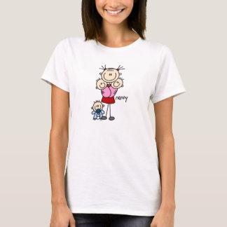 乳母の棒の姿 Tシャツ