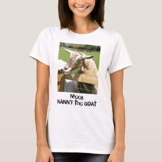 乳母ヤギの女性のTシャツ Tシャツ