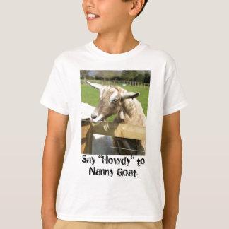 乳母ヤギの子供のTシャツ Tシャツ