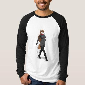 乳液のショウガ Tシャツ