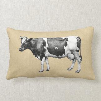 乳牛 ランバークッション