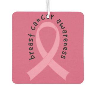 乳癌のピンクのリボンの芳香剤 カーエアーフレッシュナー