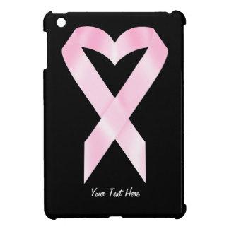 乳癌のリボン(カスタマイズ可能な) iPad MINIケース
