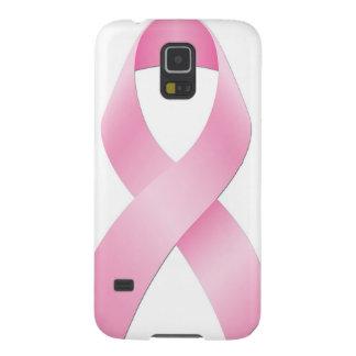 乳癌のリボン GALAXY S5 ケース