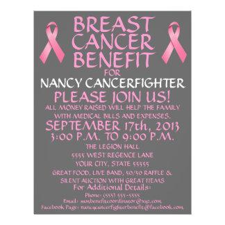 乳癌の利点の漫画のフライヤ チラシ