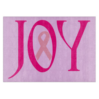乳癌の喜び カッティングボード