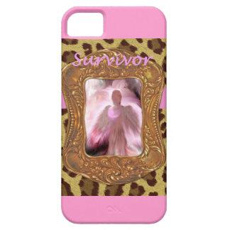 乳癌の天使の生存者 iPhone SE/5/5s ケース