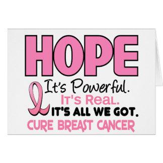乳癌の希望1 カード