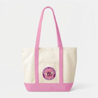 乳癌の戦士のトート トートバッグ