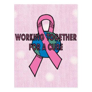 乳癌の治療 ポストカード