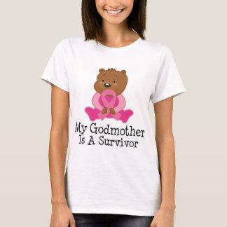 乳癌の生存者の教母 Tシャツ