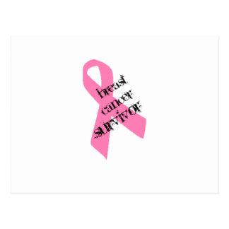 乳癌の生存者 ポストカード