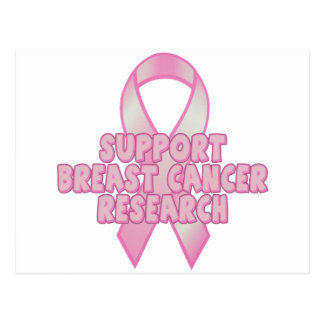 乳癌の研究 ポストカード