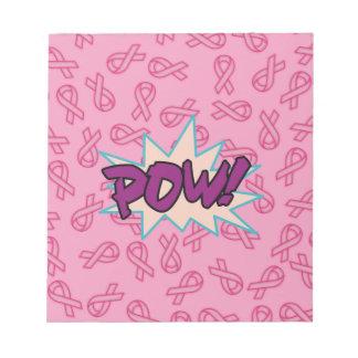 乳癌の英雄 ノートパッド