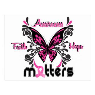 乳癌の蝶7 ポストカード