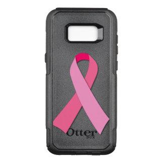 乳癌の認識度のためのピンクのリボン オッターボックスコミューターSamsung GALAXY S8+ ケース