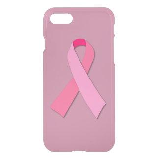乳癌の認識度のためのピンクのリボン iPhone 8/7 ケース