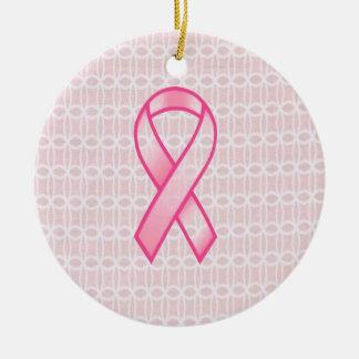 乳癌の認識度のオーナメント セラミックオーナメント