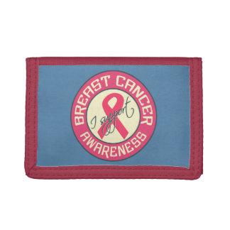 乳癌の認識度のカスタムの札入れ
